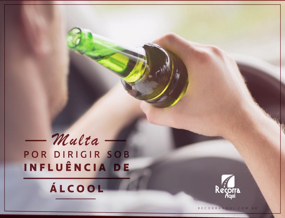 Bafômetro - Multa por dirigir sob influência de álcool - Recorra Aqui Blog