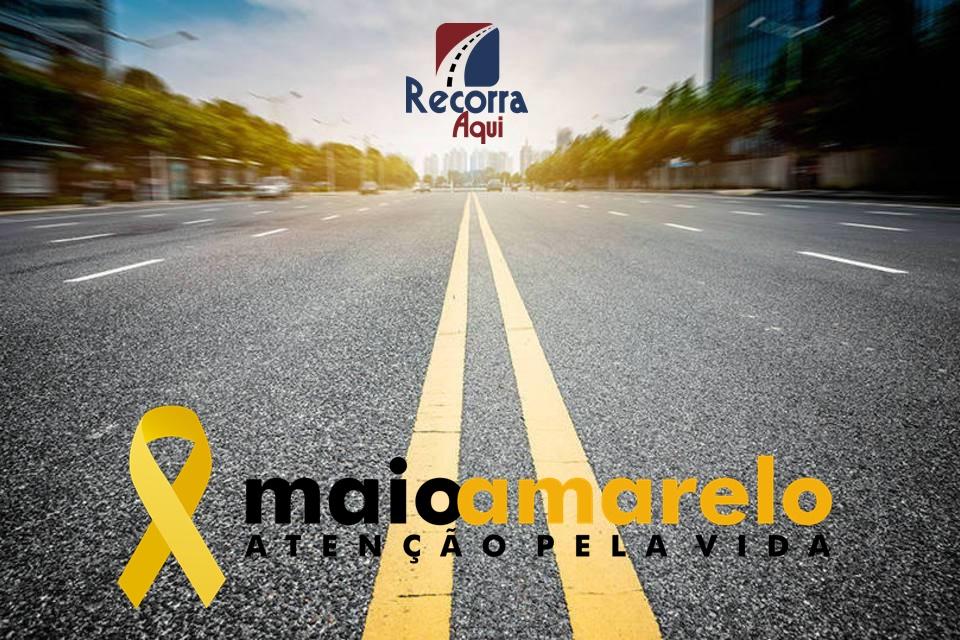 Multas - Maio Amarelo: Nós Apoiamos - Recorra Aqui Blog