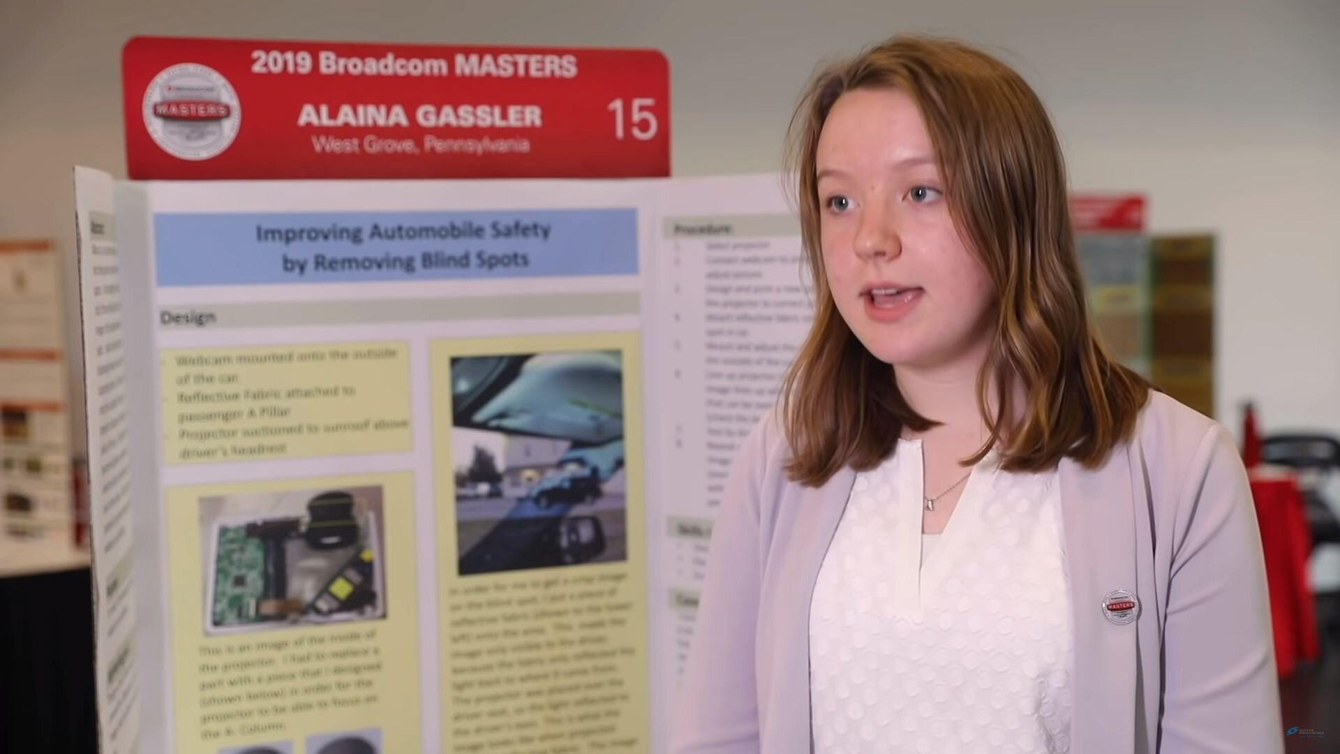 Dicas - Garota de 14 anos inventa solução para pontos cegos nos carros - Recorra Aqui Blog